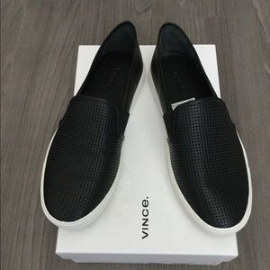 Vince black shoes